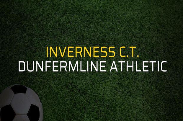 Inverness C.T. - Dunfermline Athletic maçı rakamları
