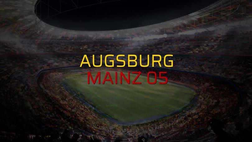 Augsburg - Mainz 05 maçı öncesi rakamlar