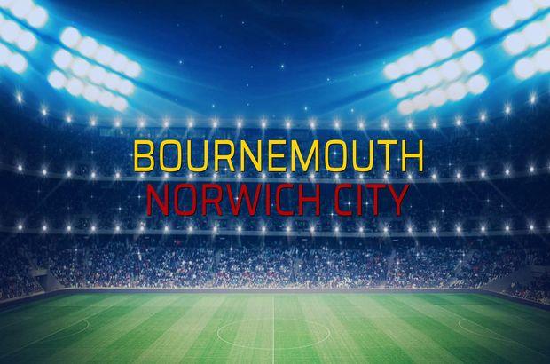 Bournemouth - Norwich City maçı heyecanı