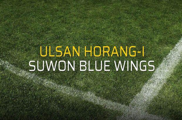 Ulsan Horang-i - Suwon Blue Wings maçı istatistikleri