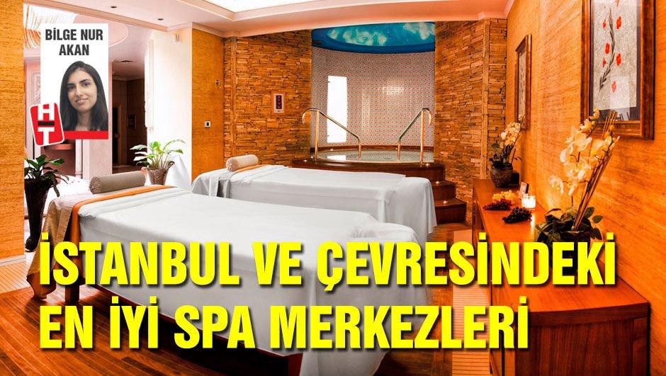 İstanbul ve çevresindeki iyi 10 spa merkezi