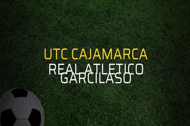 UTC Cajamarca - Real Atletico Garcilaso maçı istatistikleri