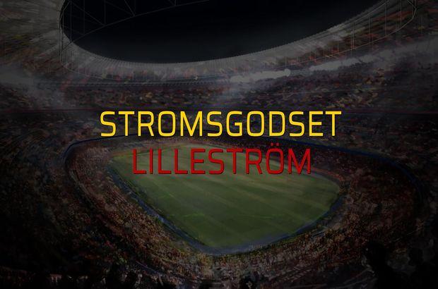 Stromsgodset - Lilleström maçı heyecanı