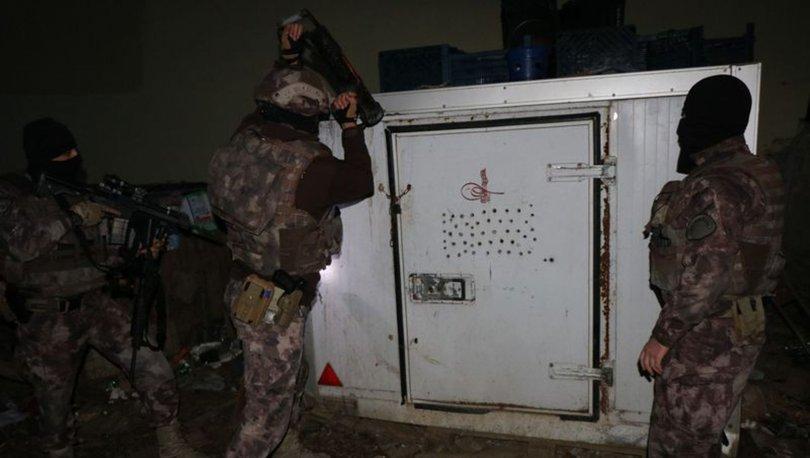 Ümraniye'de eş zamanlı uyuşturucu operasyonu