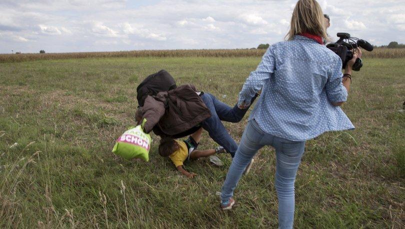 Sığınmacılara tekme atan kameraman hakkında karar çıktı!