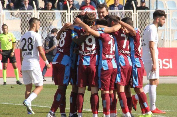 Trabzon kupada turladı