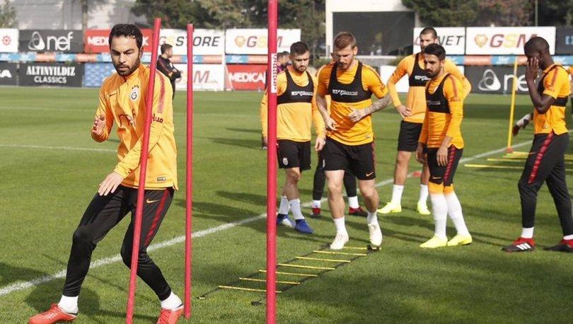 Galatasaray, Fenerbahçe maçının hazırlıklarını sürdürdü