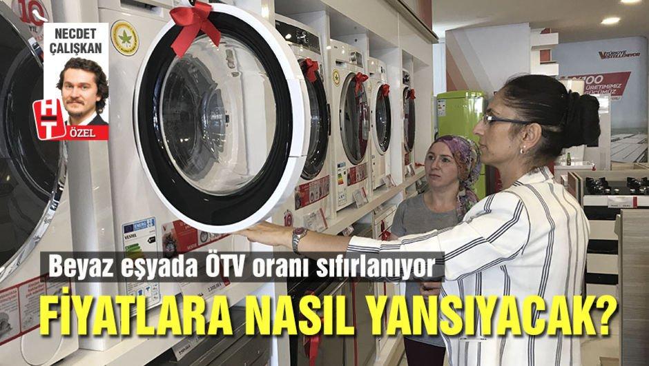 Sıfırlanan ÖTV, beyaz eşyayı dipten alacak