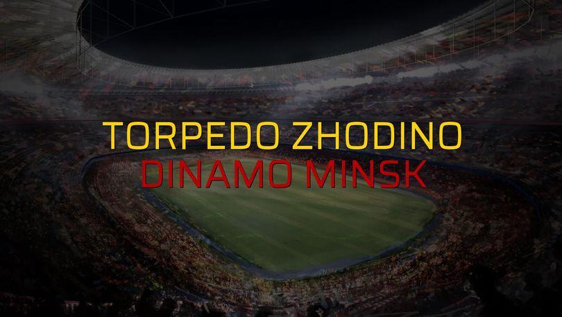 Torpedo Zhodino: 0 - Dinamo Minsk: 0 (Maç sona erdi)