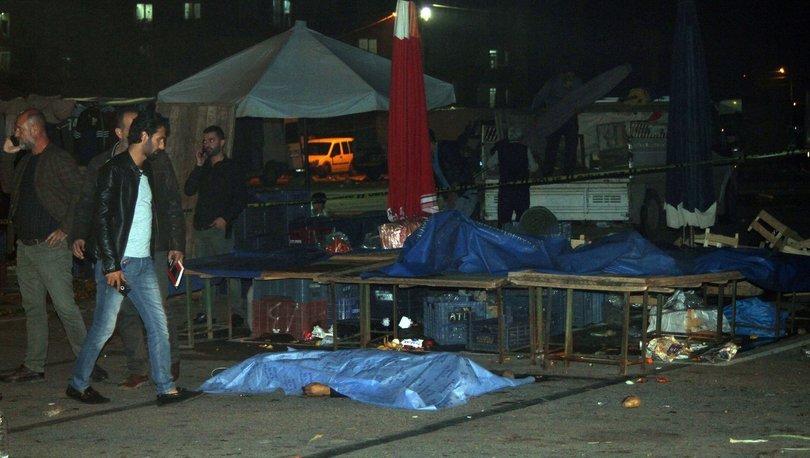 Pazar yerinde 6 kurşunla öldürüldü