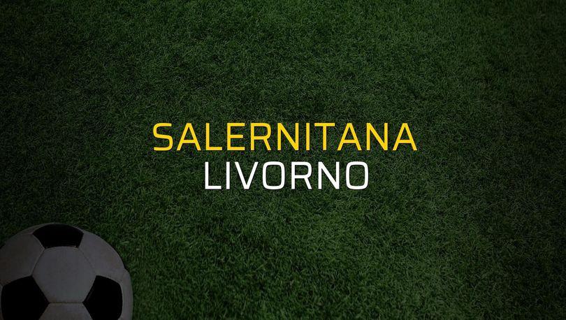 Salernitana: 3 - Livorno: 1 (Maç sona erdi)