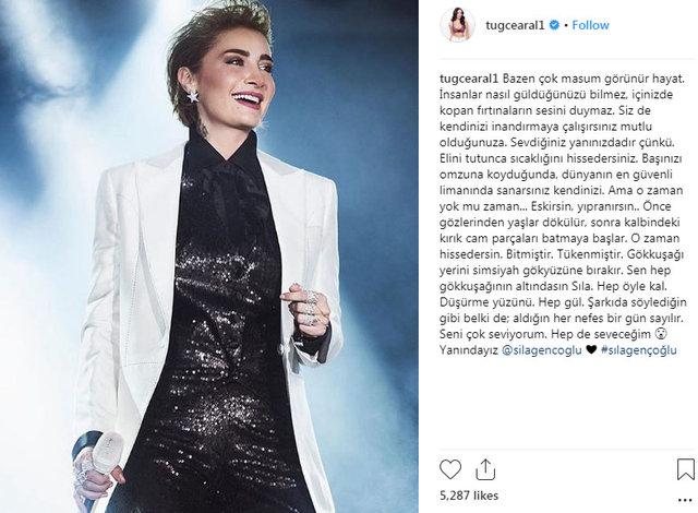 Ünlülerden Ahmet Kural'dan şiddet gördüğünü iddia eden Sıla'ya destek! - Magazin haberleri