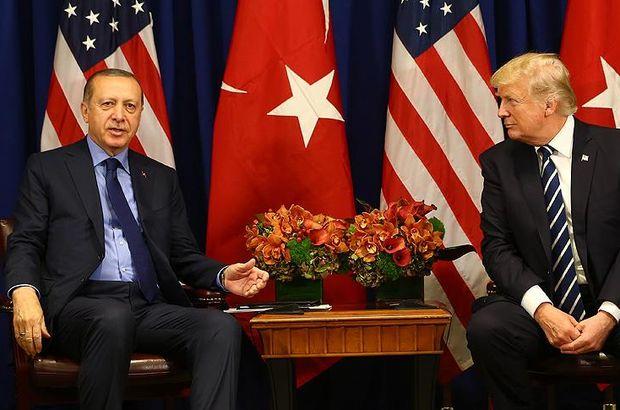Erdoğan ileTrump arasında kritik görüşme