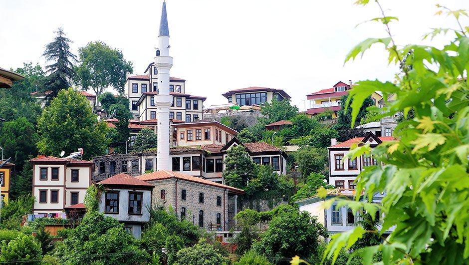 """Turistlerin Karadeniz'deki gözdesi: """"Ortamahalle"""""""