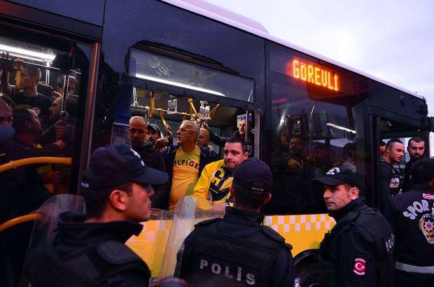 Fenerbahçe taraftarlar gözaltı