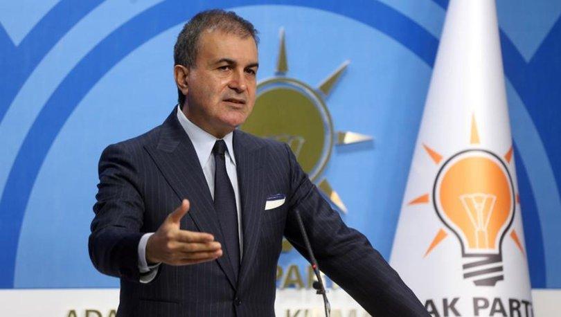 Son dakika... AK Parti Sözcüsü Ömer Çelik'ten açıklamalar