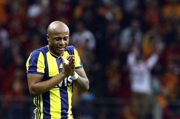 Andre Ayew Fenerbahçe Galatasaray  Donk