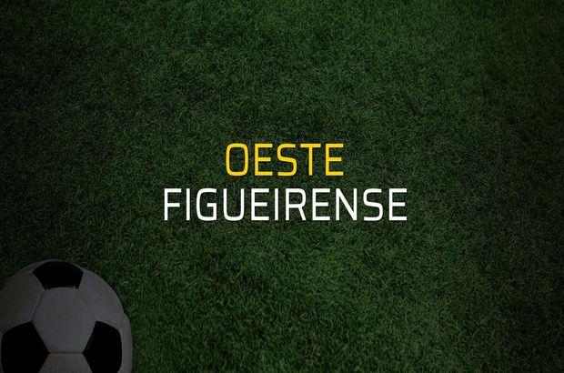 Oeste: 0 - Figueirense: 0 (Maç sona erdi)