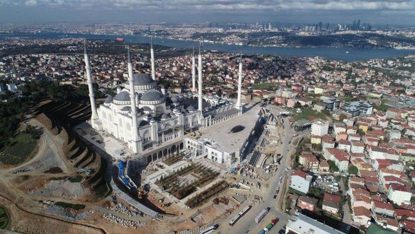 Türkiye'nin en büyük camisi bitiyor!