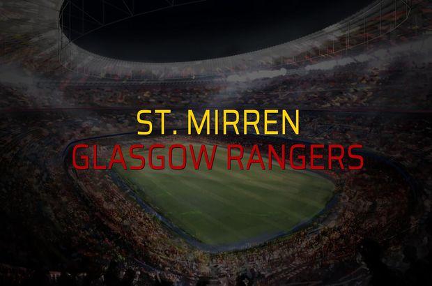 St. Mirren: 0 - Glasgow Rangers: 2