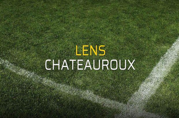 Lens: 0 - Chateauroux: 1 (Maç sonucu)