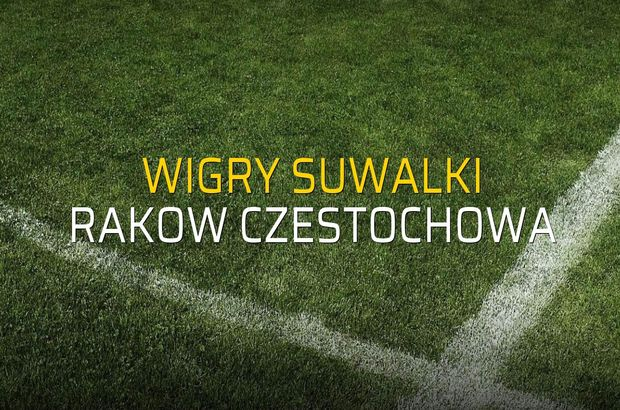 Wigry Suwalki: 0 - Rakow Czestochowa: 1 (Maç sona erdi)