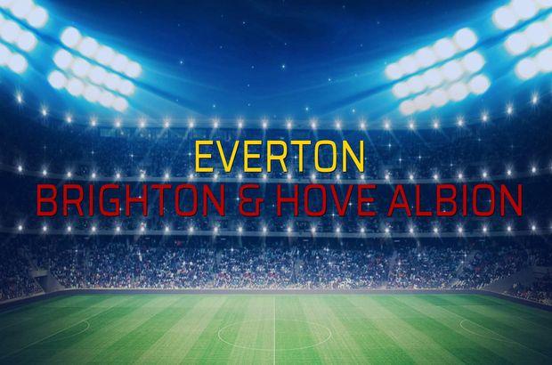 Everton: 3 - Brighton & Hove Albion: 1 (Maç sonucu)