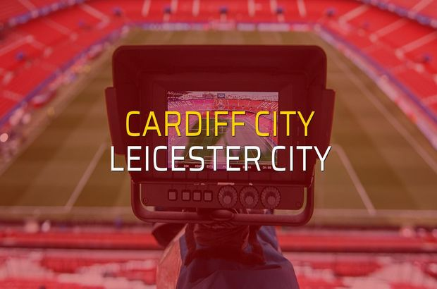 Cardiff City: 0 - Leicester City: 1