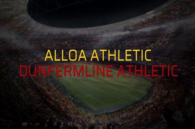 Alloa Athletic: 0 - Dunfermline Athletic: 0 (Maç sona erdi)