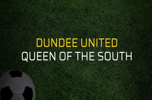 Maç sona erdi: Dundee United: 1 - Queen of the South:0