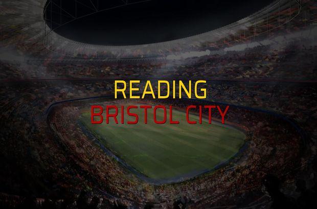 Maç sona erdi: Reading: 3 - Bristol City:2