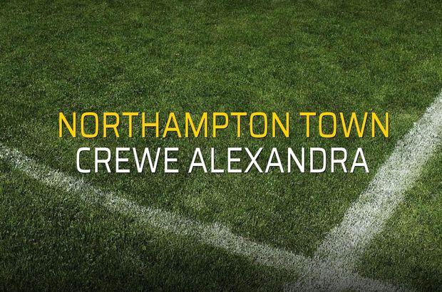 Northampton Town: 2 - Crewe Alexandra: 0