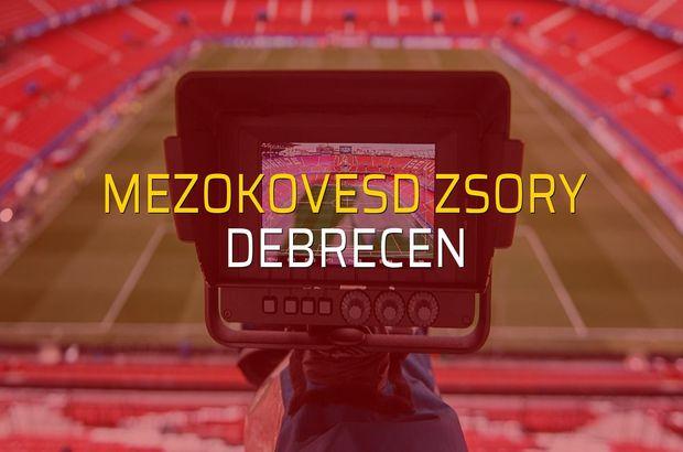 Mezokovesd Zsory: 1 - Debrecen: 1 (Maç sonucu)