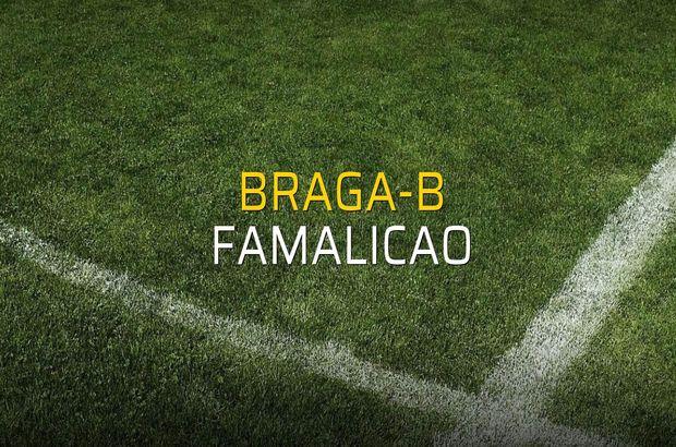 Braga-B: 2 - Famalicao: 0