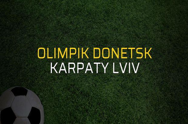 Olimpik Donetsk: 1 - Karpaty Lviv: 2