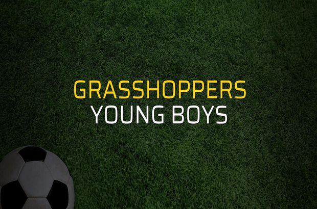 Grasshoppers: 0 - Young Boys: 3 (Maç sona erdi)