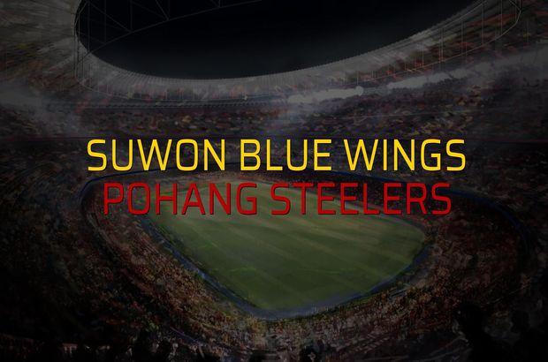 Suwon Blue Wings - Pohang Steelers maçı heyecanı