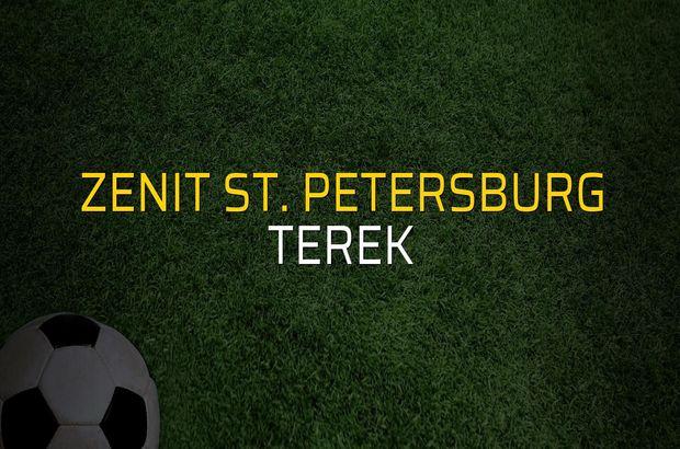 Zenit St. Petersburg - Terek rakamlar