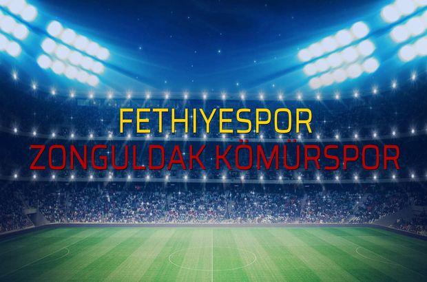 Fethiyespor - Zonguldak Kömürspor maçı ne zaman?