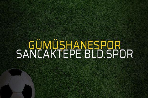 Gümüşhanespor - Sancaktepe Bld.Spor maçı heyecanı