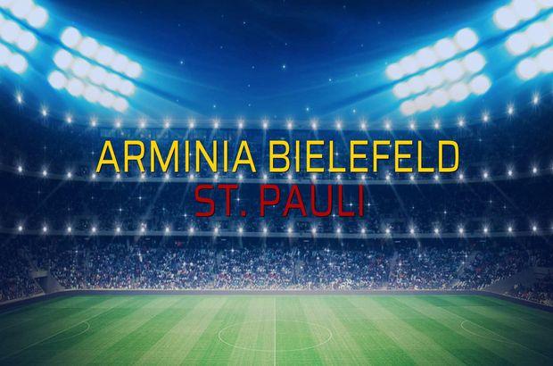 Arminia Bielefeld - St. Pauli maçı öncesi rakamlar