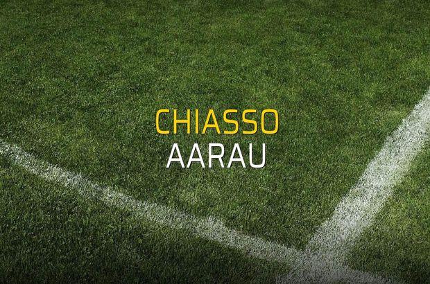 Chiasso - Aarau maçı rakamları