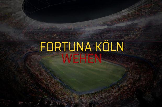 Fortuna Köln - Wehen düellosu