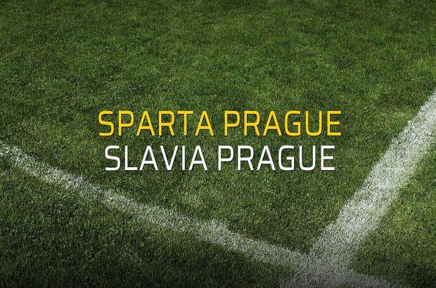 Sparta Prague - Slavia Prague maçı heyecanı