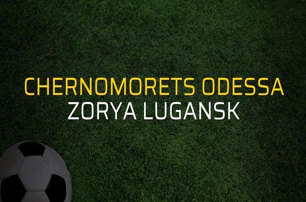 Chernomorets Odessa - Zorya Lugansk maçı heyecanı