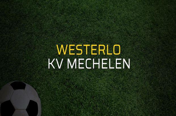 Westerlo - KV Mechelen maçı heyecanı