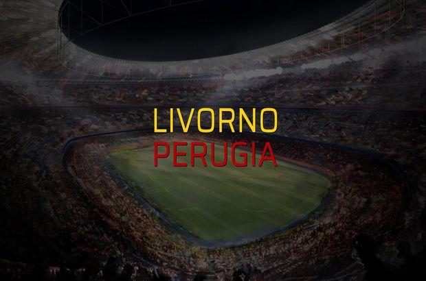 Livorno - Perugia maçı rakamları