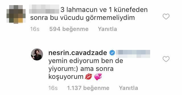 Nesrin Cavadzade: Yemin ediyorum, ben de lahmacun yiyorum! Nesrin Cavadzade kimdir? - Magazin haberleri