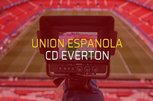 Union Espanola: 2 - CD Everton: 2