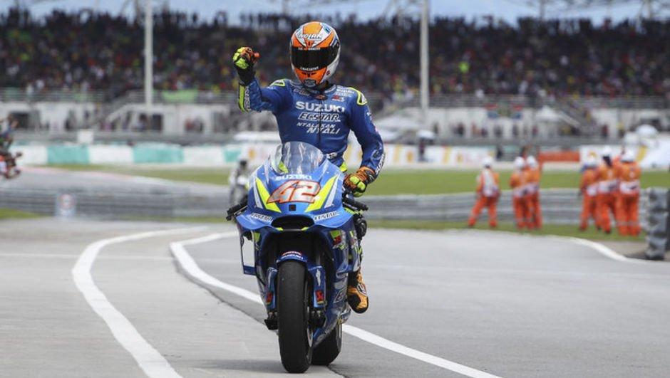 Malezya Grand Prix'sini kazanan Marquez